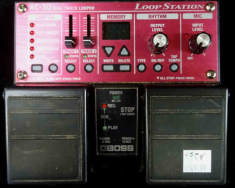 Boss RC-30 Loop Station USED!!! RC30