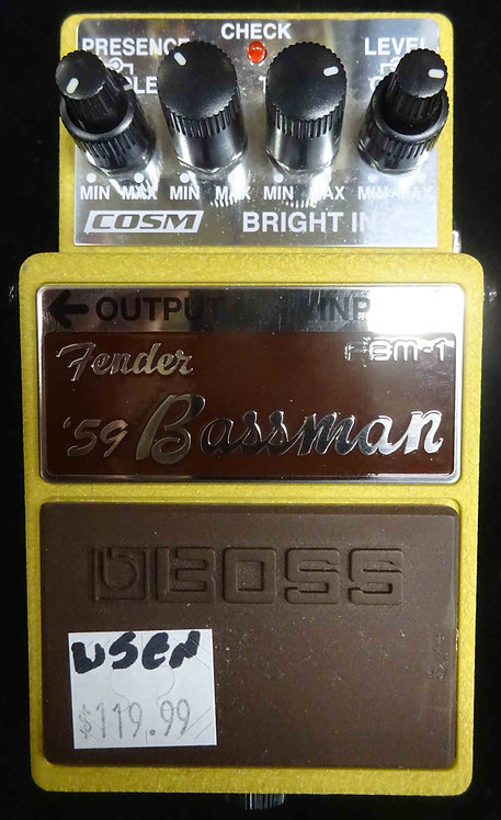 Boss FBM-1 Fender '59 Bassman USED!!! FBM1