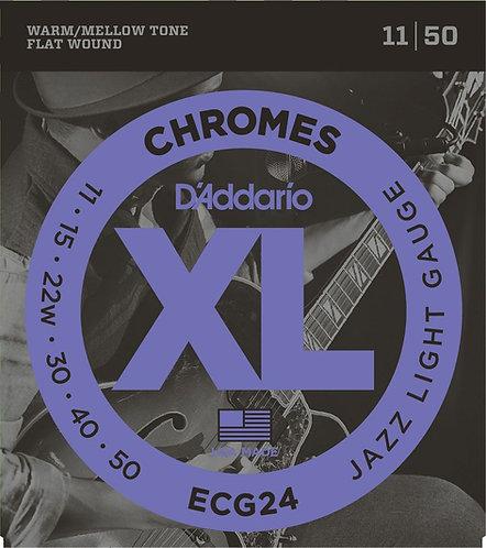 D'Addario ECG24 Jazz Light 2 Pack