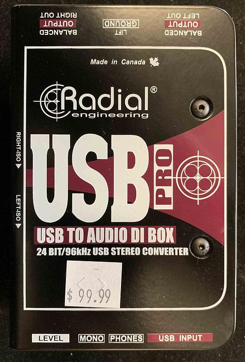 Radial Engineering USB Pro USED!!!