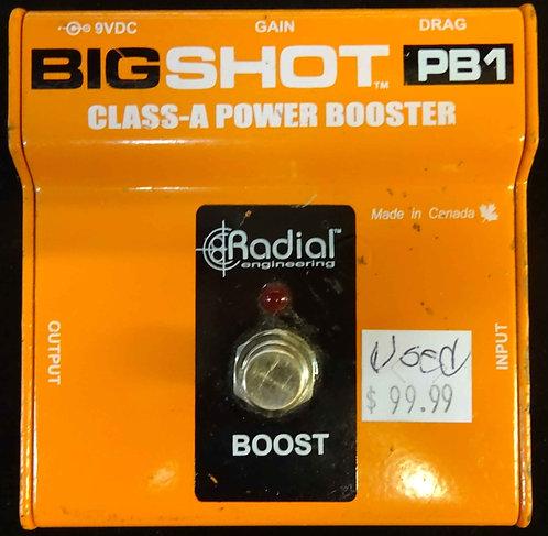Radial Engineering PB1 Big Shot USED!!!