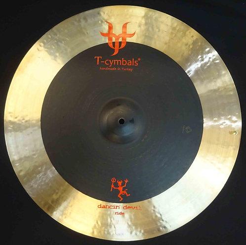 """T-cymbals 22"""" Dancin' Devil Ride NEW!!!"""