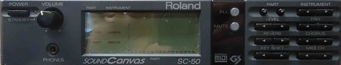 Roland SC-50 Sound Canvas USED!!! SC50