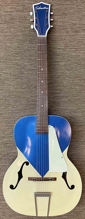 Silvertone Archtop Acoustic Guitar VINTAGE!!!