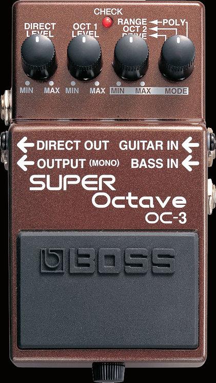 Boss OC-3 Super Octave NEW!!! OC3