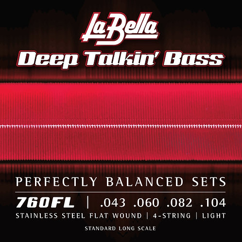 LaBella 760FL Deep Talkin' Bass
