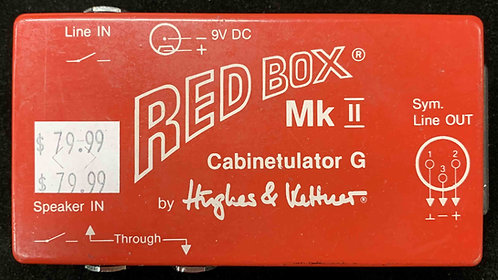 Hughes & Kettner Red Box MKII USED!!!