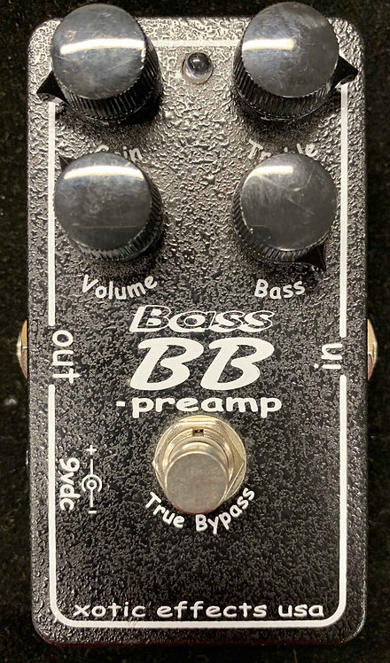 Xotic Effects Bass BB Preamp USED!!!