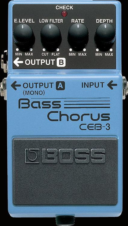 Boss CEB-3 Bass Chorus NEW!!! CEB3