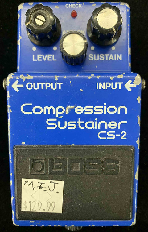 Boss CS-2 Compression Sustainer VINTAGE!!!