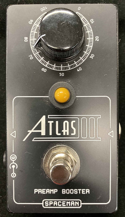Spaceman Effects Atlas III Preamp Booster USED!!!