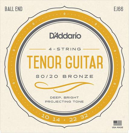 D'Addario EJ66 Tenor Guitar (4 Pack)
