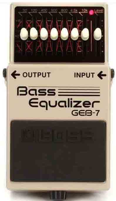 Boss GEB-7 Bass Equalizer NEW!!! GEB7