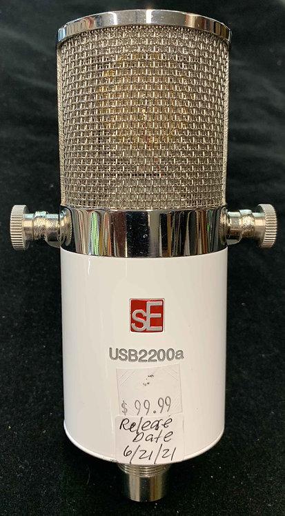 sE Electronics USB2200a USB Studio Condenser Microphone USED!!!