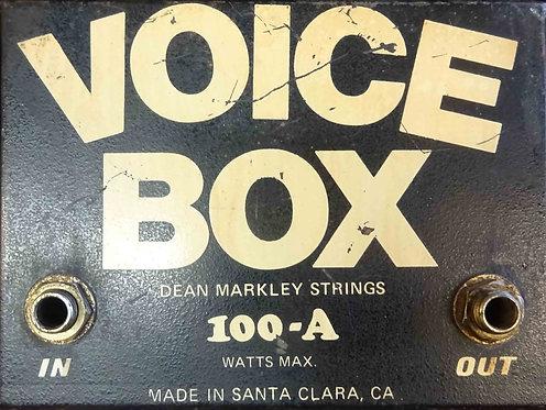 Dean Markley Voice Box VINTAGE!!!