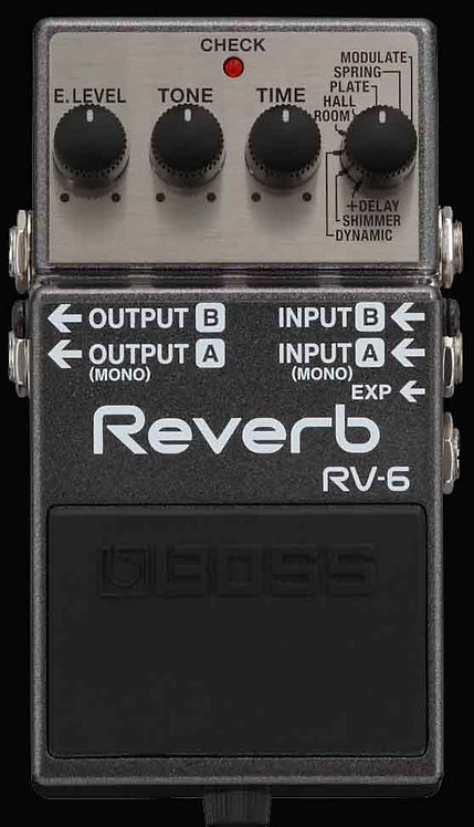 Boss RV-6 Reverb NEW!!! RV6