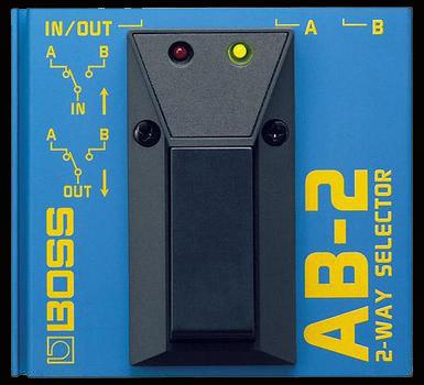 Boss AB-2 2-Way Selector NEW!!! AB2