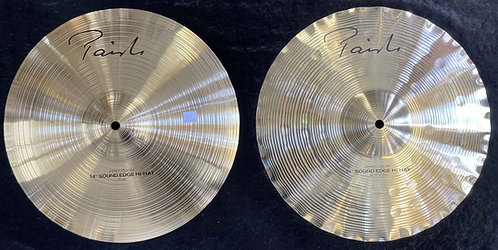 "Paiste 14"" Signature Precision Sound Edge Hats NEW!!!"