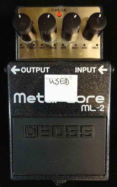 Boss ML-2 Metal Core USED!!! ML2