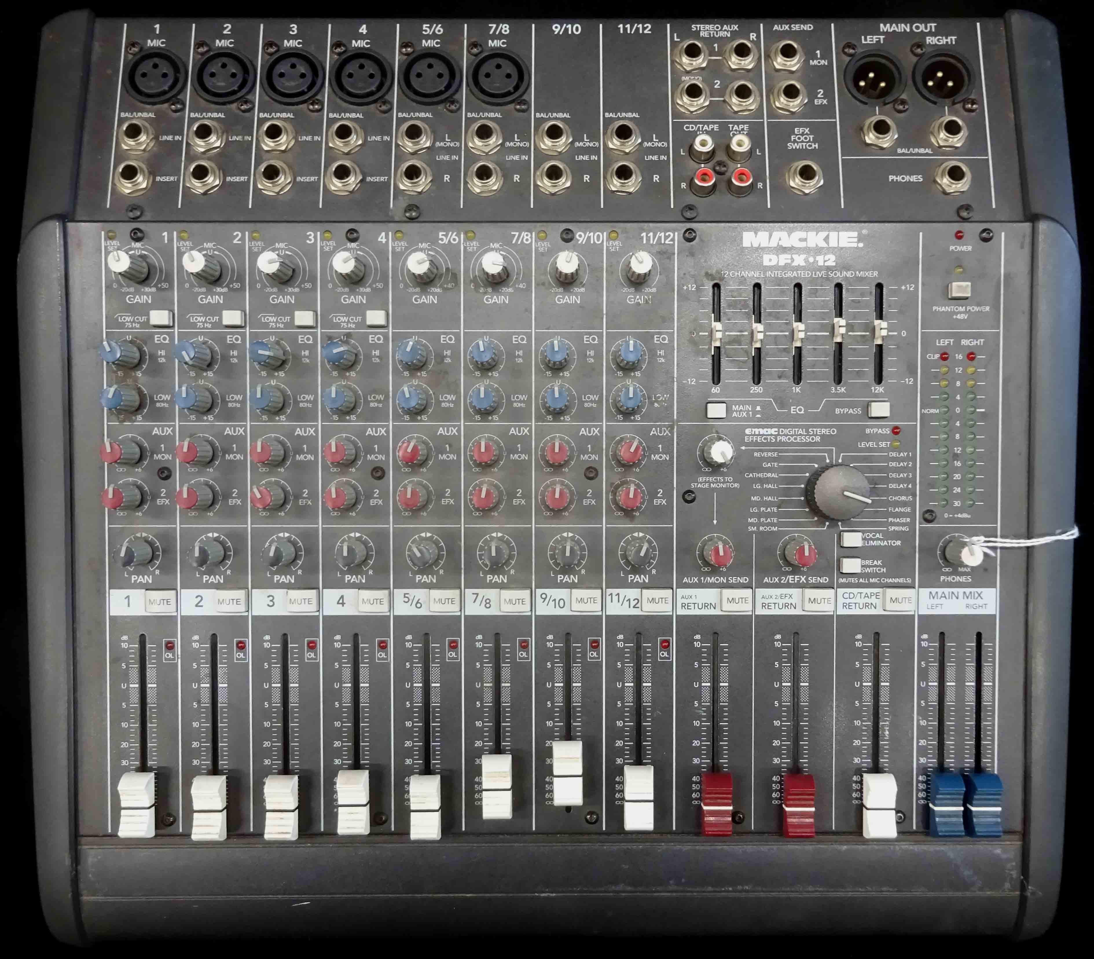 Mackie DFX-12 Sound Mixer USED!!!
