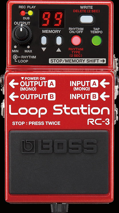 Boss RC-3 Loop Station NEW!!! RC3