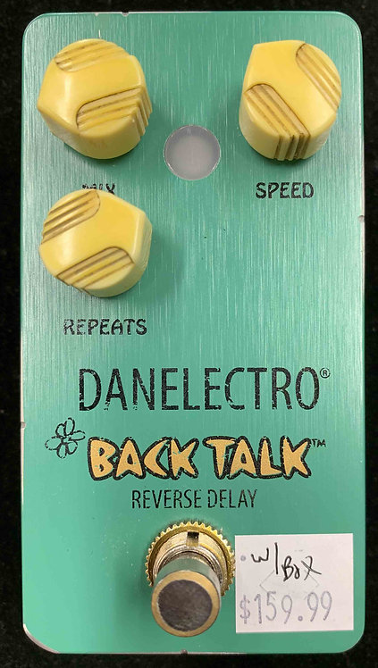 Danelectro Back Talk Reverse Delay USED!!!