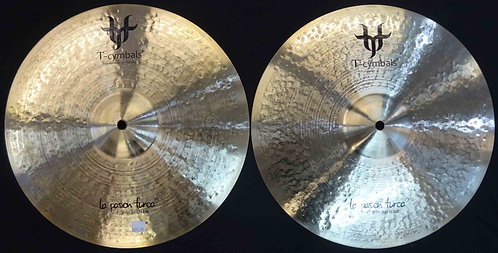 "T-cymbals 14"" La Pasion Turca Hats NEW!!!"