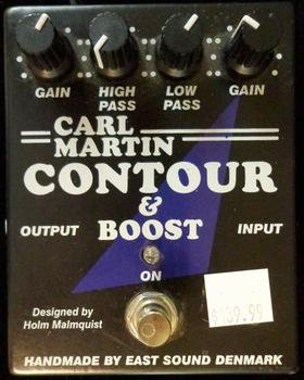 Carl Martin Contour & Boost USED!!!