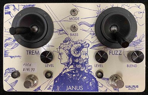 Walrus Audio Janus Tremolo & Fuzz USED!!!