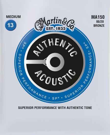 Martin MA150 SP 80/20 Bronze Medium Authentic (4 Pack)