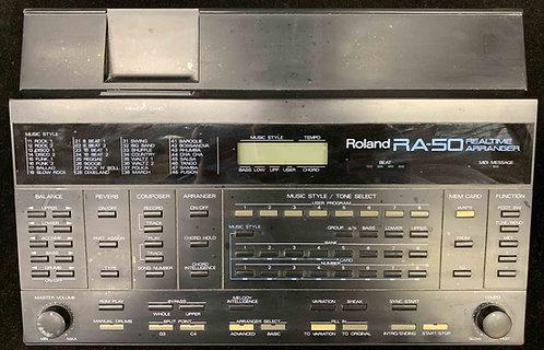Roland RA-50 Realtime Arranger VINTAGE!!!