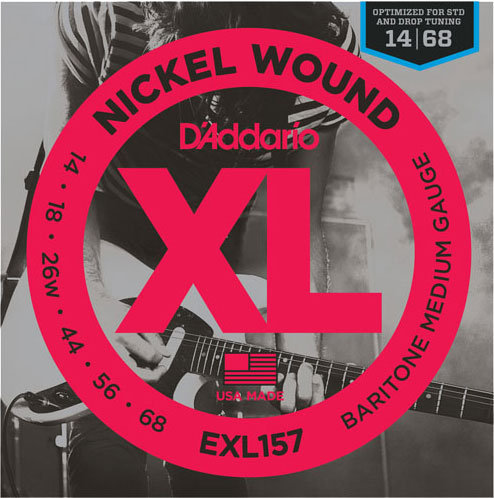 D'Addario EXL157 Baritone Medium (3 Pack)