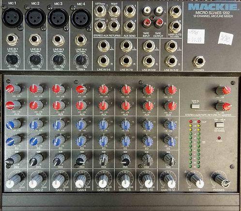 Mackie 1202 Mixer USED!!!
