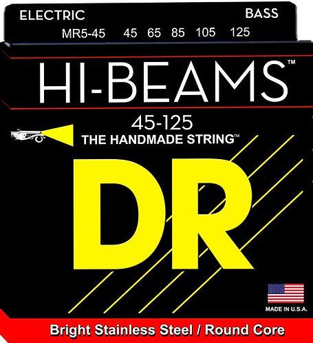 DR MR5-45 Hi-Beams Medium 5-String