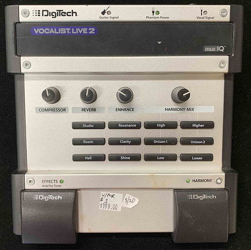 Digitech Vocalist Live 2 USED!!!