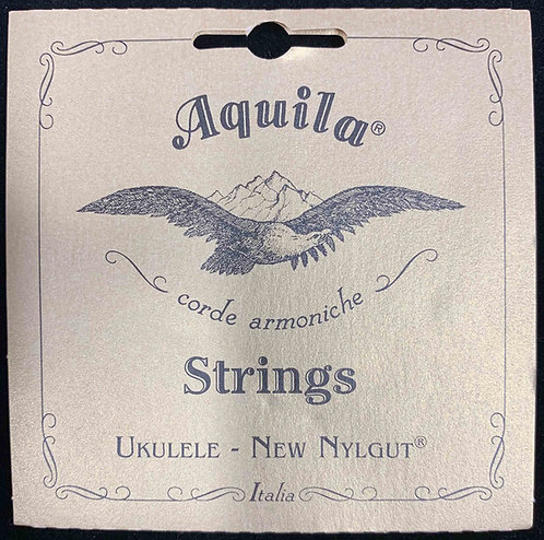 Aquila 21-U Baritone Low D Ukulele Set (4 Pack)