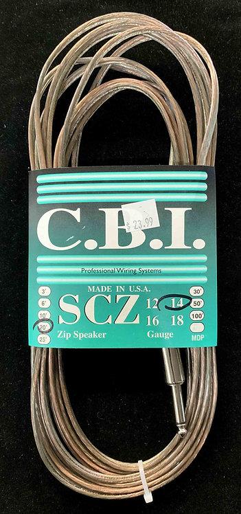 CBI 20' Speaker Cable, 14 Gauge