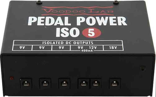 Voodoo Lab Pedal Power ISO 5 NEW!!!