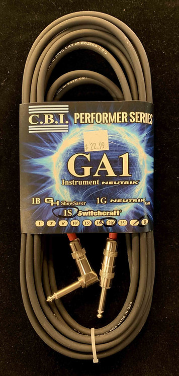 CBI 20' Instrument Cable w/1R