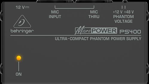 Behringer PS400 Phantom Power Supply NEW!!!
