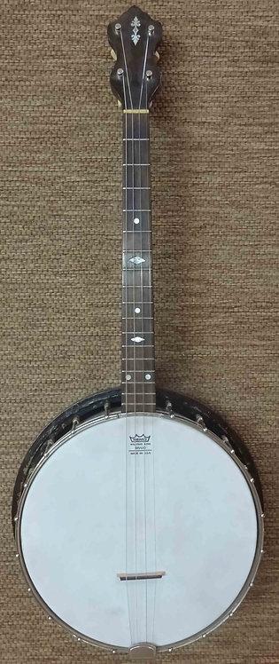 Vintage Tenor Resonator Banjo