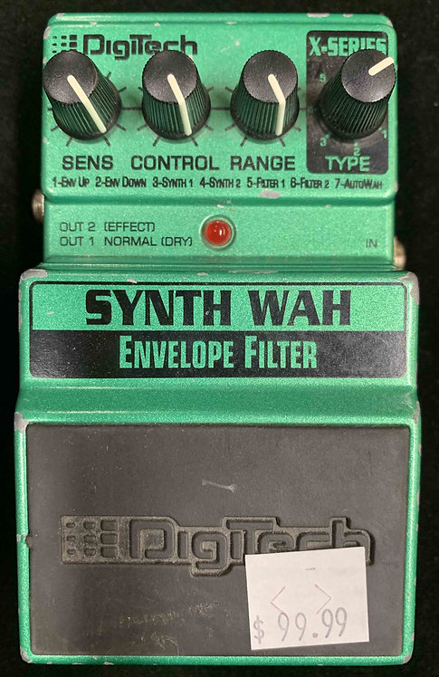 Digitech Synth Wah Envelope Filter USED!!!