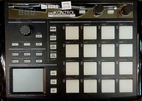 Korg padKONTROL MIDI Studio USED!!!