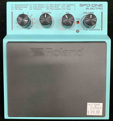 Roland SPD One Electro USED!!!