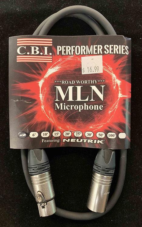 CBI 3' Microphone Cable