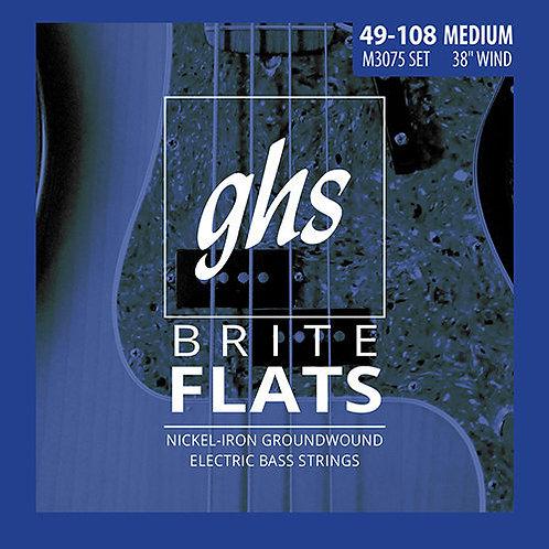 GHS M3075 Medium Brite Flats