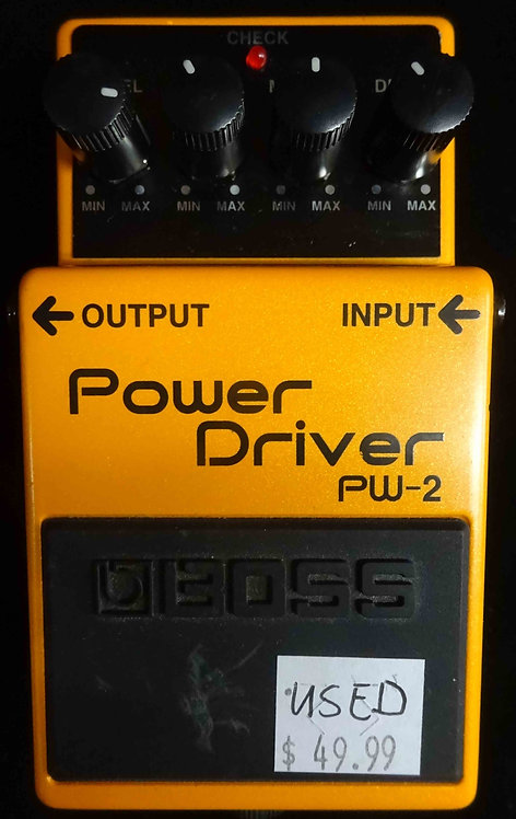 Boss PW-2 Power Driver USED!!! PW2