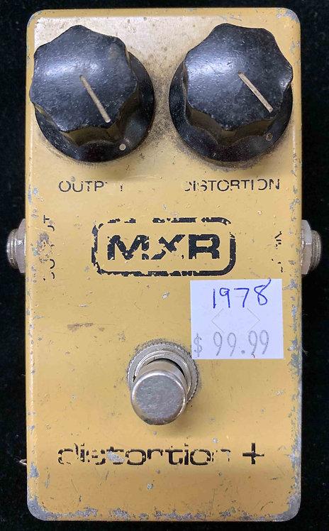 1978 MXR Distortion Plus VINTAGE!!! Distortion +