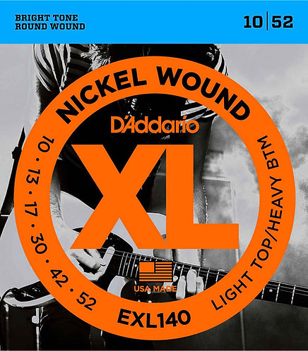 D'Addario EXL140 Light Top/Heavy Bottom 3 Pack