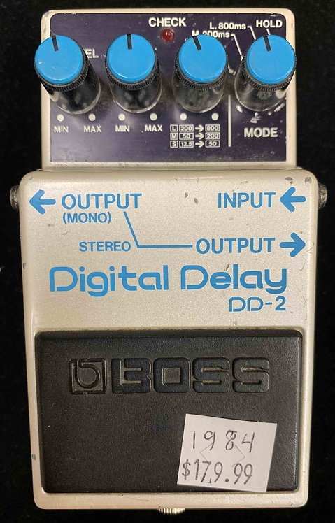Boss DD-2 Digital Delay VINTAGE!!! DD2